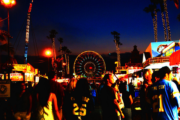 Del Mar Fair @ Night