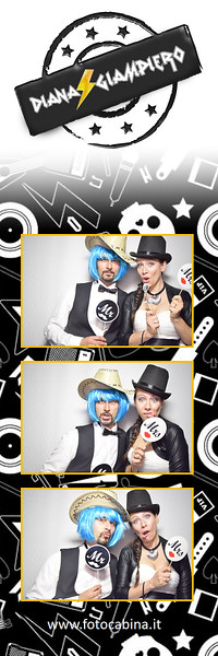Photobooth con Fotocabina matrimonio di Diana e Giampiero