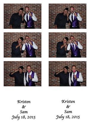 7.18.15 Kristen & Sam Photobooth