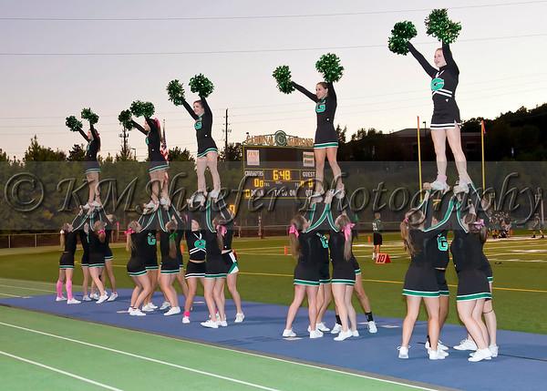 Sr. Night - Cheerleaders & Dance Team