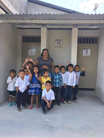 La Catocha School Bathroom and Sink Project