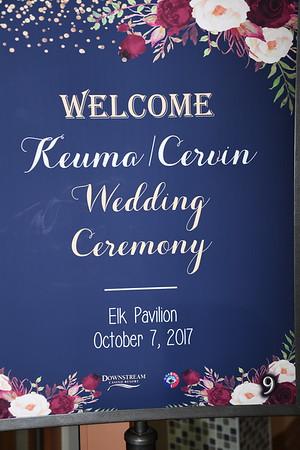 10-7-2017 Cervin-Keuma Wedding @ Downstream Resort, Quapaw, OK