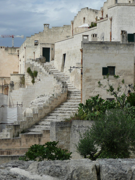 Typical view in Matera