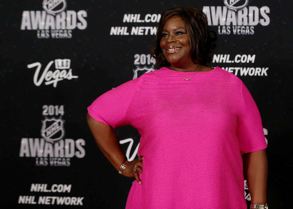 . Actress Retta arrives on the red carpet prior to the 2014 NHL Awards at Encore Las Vegas on June 24, 2014 in Las Vegas, Nevada.  (Photo by Bruce Bennett/Getty Images)