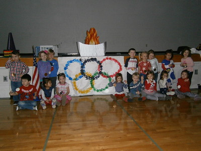 3 Year Old Preschool Winter Olympics