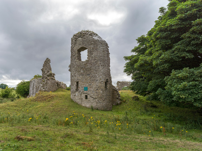 Ruines of a castle, Castlebar, County Mayo, Ireland