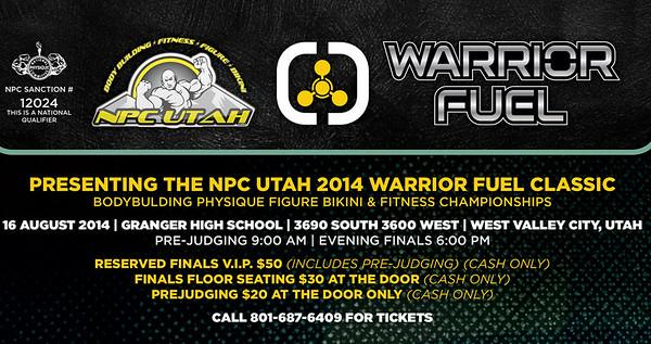 NPC Utah 2014 Warrior Fuel Classic