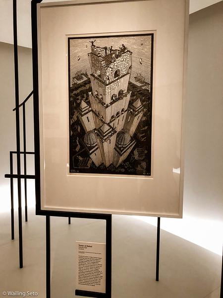 Escher x Nendo exhibition at @NGVMelbourne.