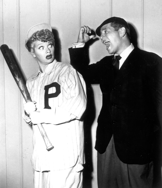 ". ""I Love Lucy\""  Lucille Ball and Desi Arnaz.   Los Angeles Daily News file photo"
