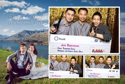 Dash + Jane Photo Booth Album