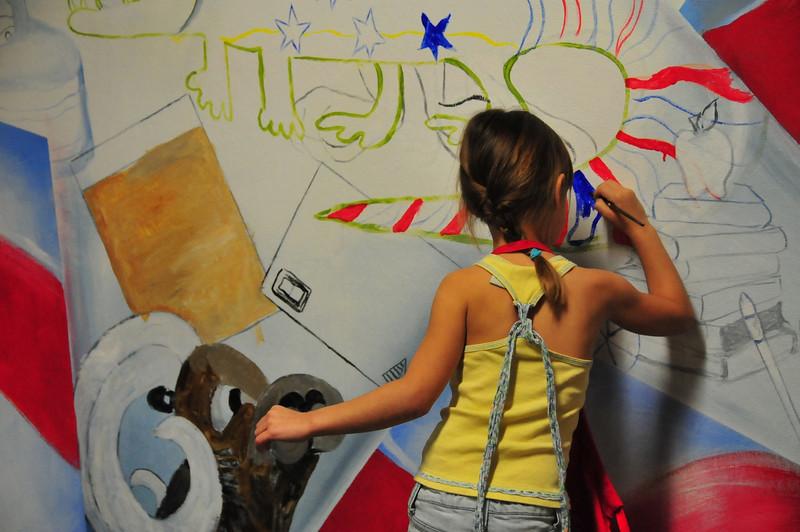 2009 ARTreach - Mayde Creek Mural