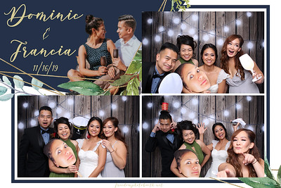 Dominic & Francia's Wedding 11.16.19