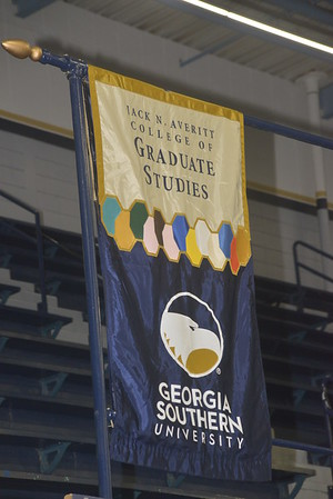 Photos at Georgia Southern 12/9/2017  Commencement