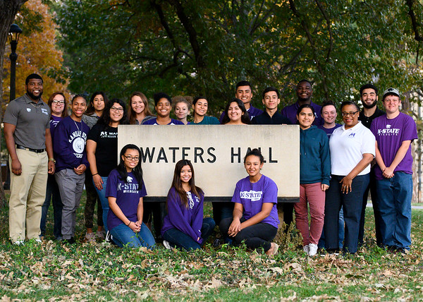 Waters hall group photo