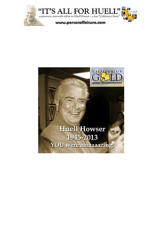 HUELL HOWSER TRIBUTE PHOTO PAGES FOR DOWNLOAD