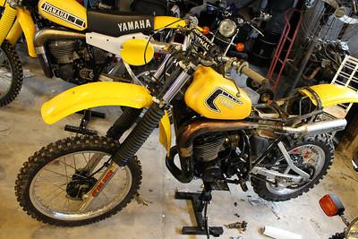 YZ465 bike 2, recommissioning