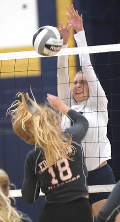 Edgewood at Conneaut volleyball august 24, 2020