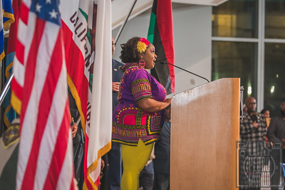 8th Annual African American History Month Flag Raising & Reception | Susan Ellenberg