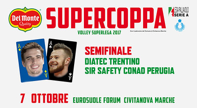 Semifinale «Diatec Trentino - Sir Safety Conad Perugia»