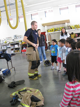 Kinderngarten Field Trip to the Fire Station 2012