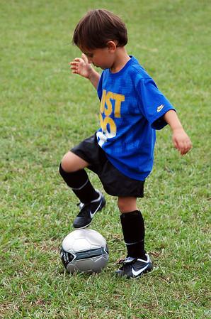 Cardinals Soccer pratice