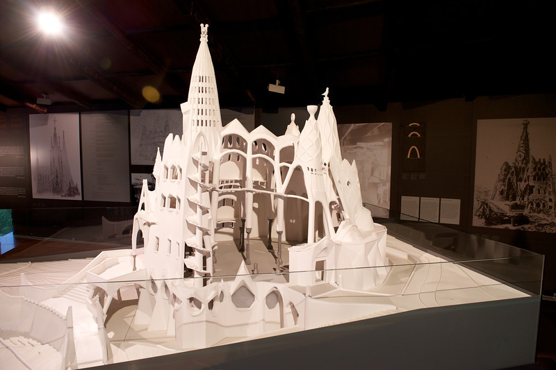 Model of the Colonia Guell