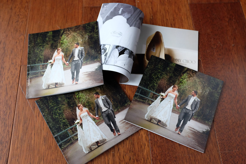 "4 smaller duplicate albums 6""x6"" handbag size"