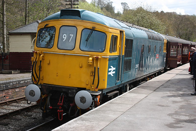 33102 Running Day - Churnet Valley Railway, 4th May 2013