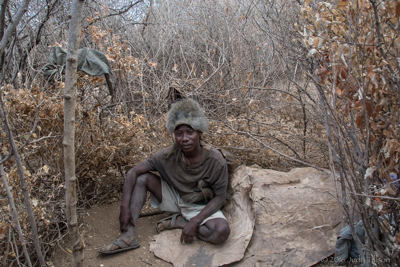 Tanzania Hadzabe Tribe Chief-3057.jpg