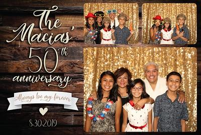 The Macias' 50th Anniversary - Morgan Falls - 9.01.2019