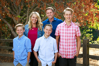 Scott Family - Fall 2018