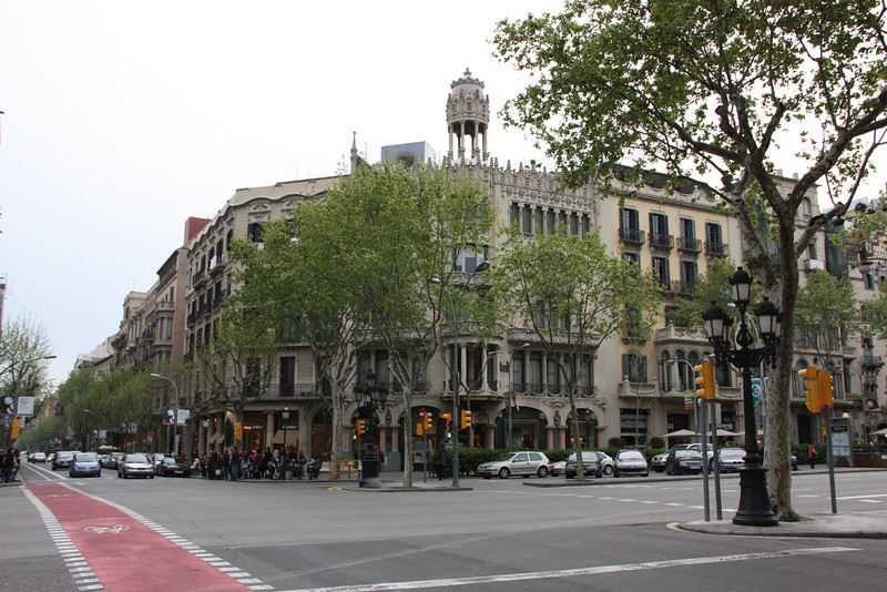 Casa Lleo Morera - another crazy building in Barcelona.