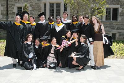 Mathey College diploma distribution