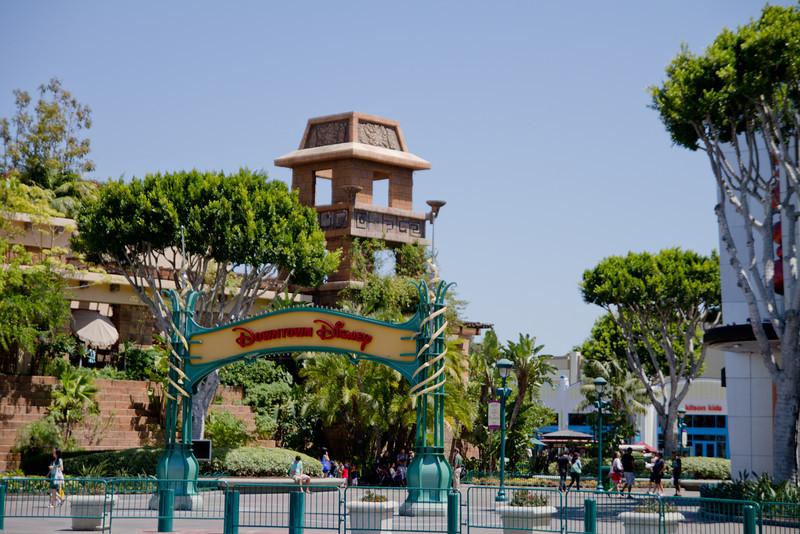 Downtown Disney Enterance