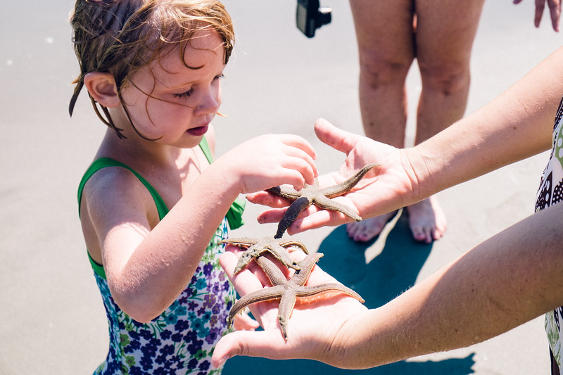Rachel with Starfish