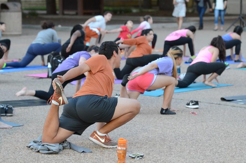 4/5 - Yoga on the Plaza
