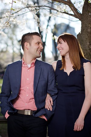 Kristen + Rich's Engagement :: Wooster Square :: New Haven, CT