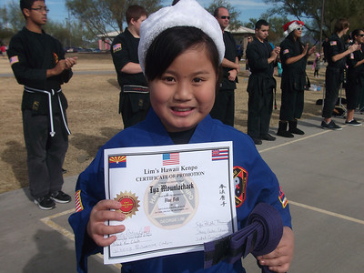 Lim's Hawaii Kenpo Christmas Picnic & Belt Promotion