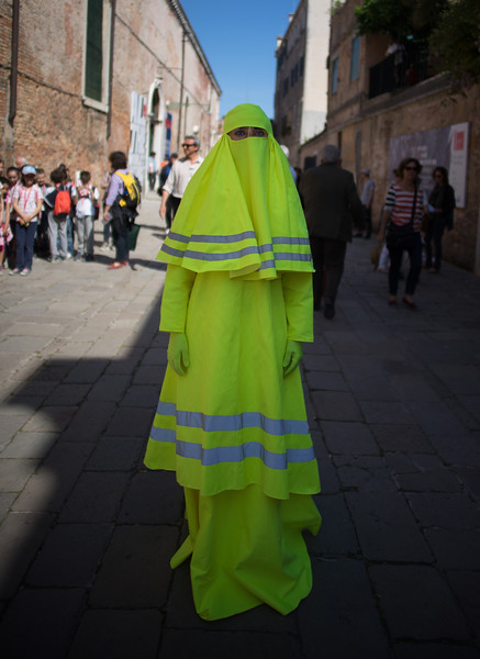 WHILE IN VENICE FOR THE BIENNALE…