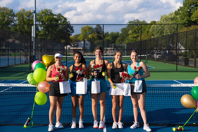 Girls Tennis--Senior Day