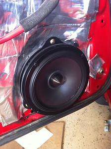 2004 Subaru Impreza TS Wagon Front Speaker Installation - USA