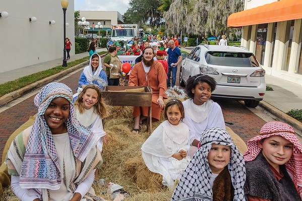 WPPC in the Winter Park Christmas Parade 12-5-2015
