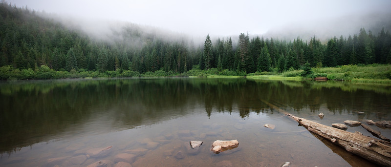 Mirror Lake in the Mount Hood Wilderness