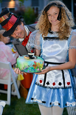Mad Hatter Tea Party - 2015
