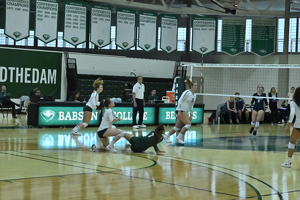 BABSON VOLLEY BALL v BRANDEIS  10.12.2019