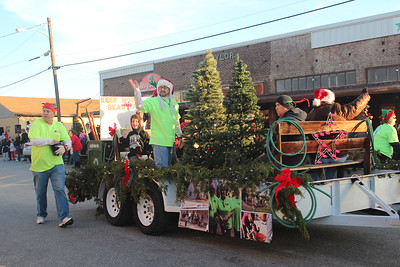 Howe Christmas Parade, 12/19/2015