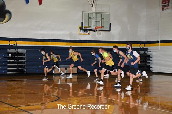 Basketball Practice and Team Photos