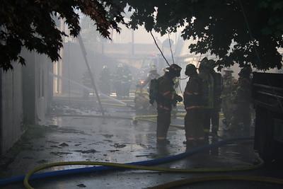 Fire, Gun Fire Store, Schuylkill Haven (5-31-2012)