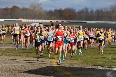 400 Meters, D3 Girls - 2012 MHSAA LP XC