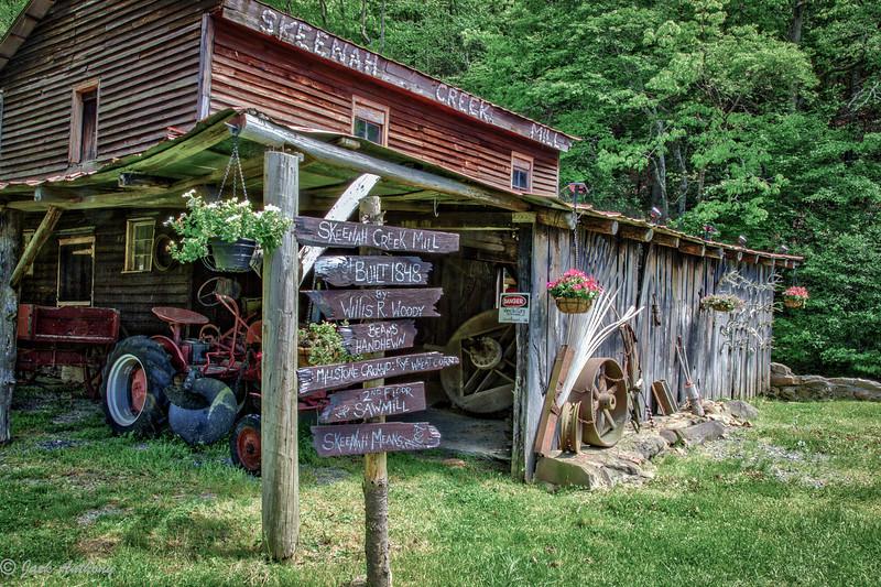 Skeenah Creek Mill on Hwy 60 in Morgonton, Ga.